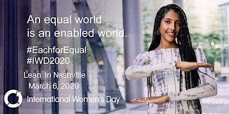 International Women's Day with Lean In Nashville tickets