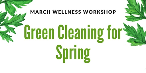Green Cleaning for Spring