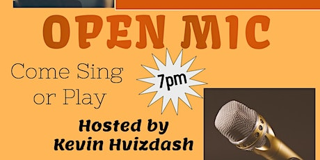 Open Mic at Tucked Away Brewing-April tickets