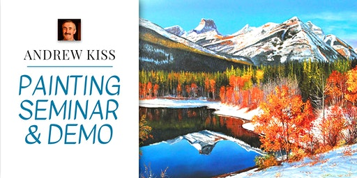Painting Seminar and Live Demo with Andrew Kiss