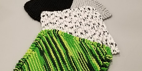 Beginner Knit - Dishcloth w/ Erin tickets