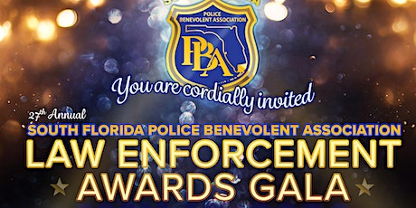 South Florida PBA Awards Gala 2020 tickets