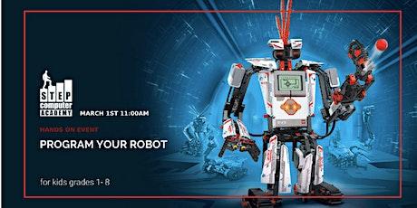Robotics Hands -On Event tickets