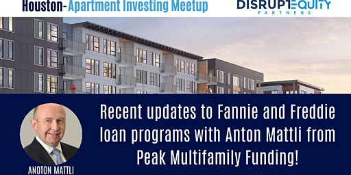 Houston Apartment Investing and Networking Meetup!