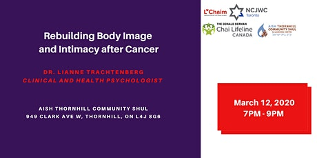 Rebuilding Body Image and Intimacy after Cancer tickets