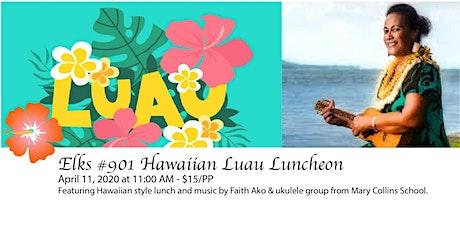 Hawaiian Luau Luncheon tickets