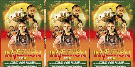 POSTPONED Cactus Invasion tickets