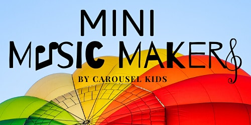 Mini Music Makers (0-18months)