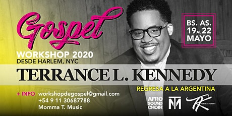 WorkShop de Música Gospel 2020 - Terrance L. Kennedy en Argentina tickets