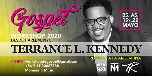 WorkShop de Música Gospel 2020 - Terrance L. Kennedy en Argentina
