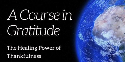 WORKSHOP: The Healing Art of Gratitide & Abundance