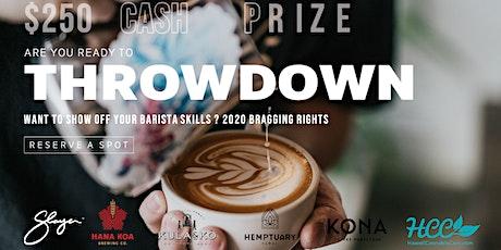 Barista Throwdown 2020 tickets