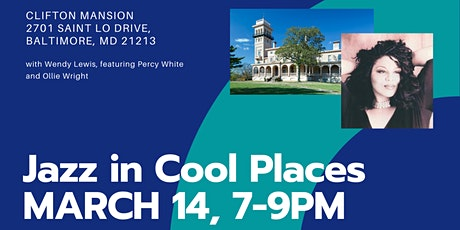 Jazz In Cool Places - Wendy Lewis at Clifton Mansion tickets