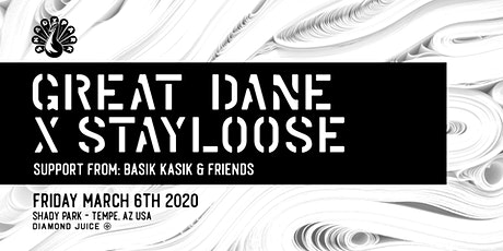 Great Dane x StayLoose at Shady Park tickets