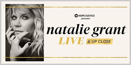 Natalie Grant  Live & Up Close| Williamsport, MD