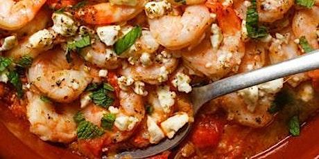 Cooking Class: Aegean Shrimp tickets