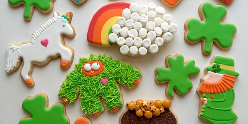 St. Patrick's Day Cookie Decorating Workshop for Kids and Adults