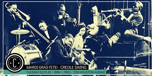 Mardi Gras Fete with Creole Swing