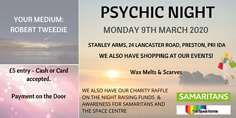 Psychic Night - 9th March tickets