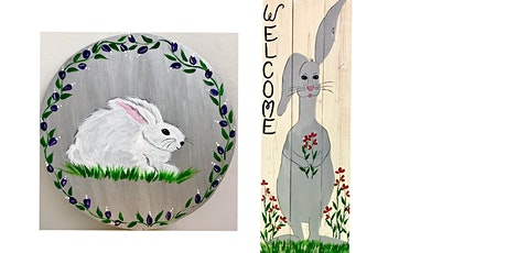 "Adult Open (18yrs+) Pick Your Own ""Sir Bunny"" or ""Sittin Pretty"" Wood or Canvas tickets"