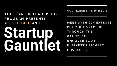 Startup Gauntlet and Demo Day tickets