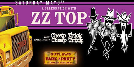 Outlaws Park and Party to ZZ TOP & CHEAP TRICK tickets