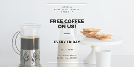 Coffee + Coworking at the Sesh Loft tickets