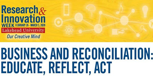 Business And Reconciliation: Educate, Reflect, Act