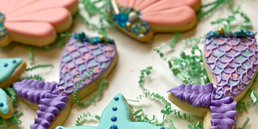 Cookie Decorating Class- Mermaids for Beginners