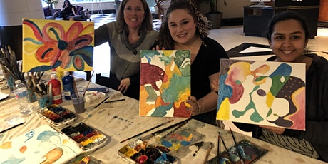 Abstract Painting workshop at The Park Central Hotel tickets