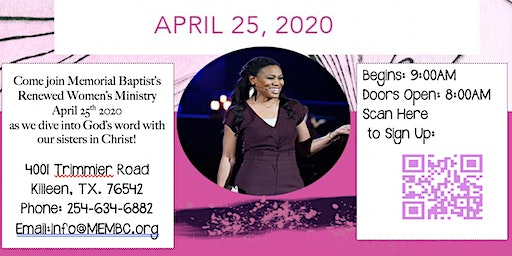 Priscilla Shirer Going Beyond Simulcast with Memorial Baptist Church