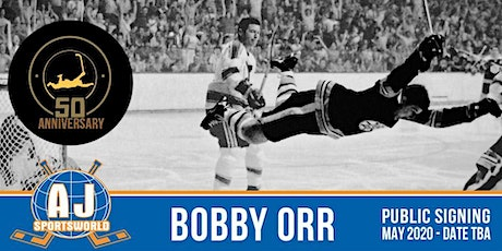 Bobby Orr   - In Store Signing tickets