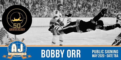 Bobby Orr   - In Store Signing