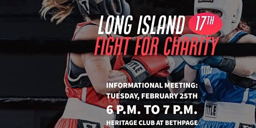 Call For Boxers - Informational Meeting - Charity Boxing