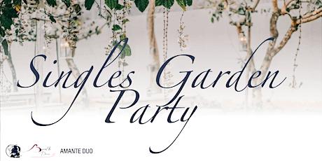 Singles Garden Party tickets