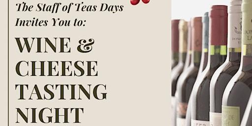 Wine & Cheese Tasting Night