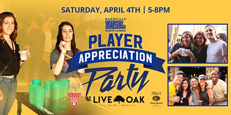 Player Appreciation Party at Live Oak tickets