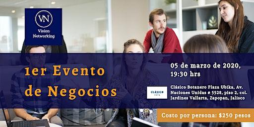 1er evento de negocios