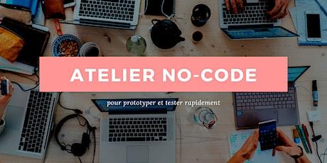 Le no-code pour prototyper rapidement tickets