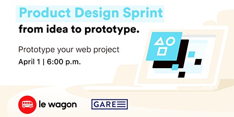 Le Wagon workshop - Product Design Sprint tickets