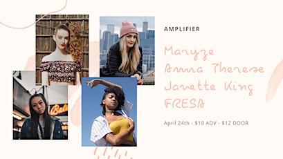 Maryze & Janette King @ Amplifier tickets