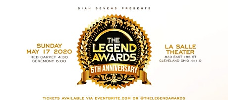 The Legend Awards tickets