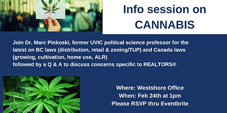 Info Session on CANNABIS tickets