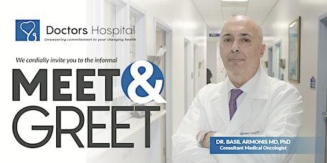 Meet & Greet Dr. Basil Armonis tickets
