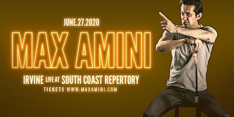 Max Amini Live in Irvine - 2020 World Tour tickets