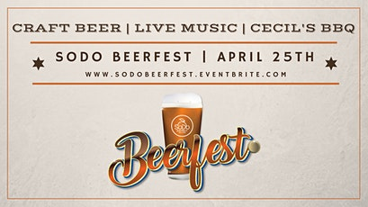 SoDo Beer Fest tickets