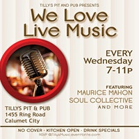 We Love Live Music- Wednesday Nights @ Tillys