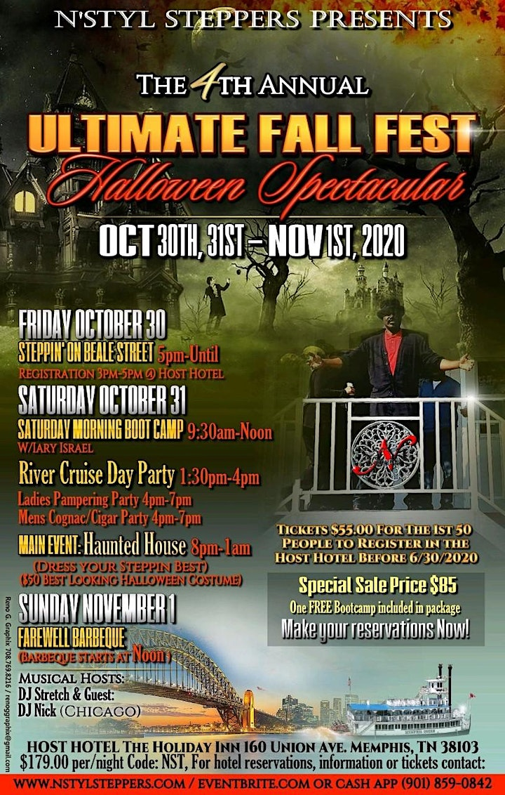 4th Ave Halloween 2020 4th Annual Ultimate Fall Fest, Halloween Spectacular Tickets, Fri