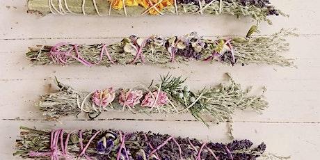 Craft Spring Garden Smudge Sticks Hermosa Beach Farmers' Market tickets