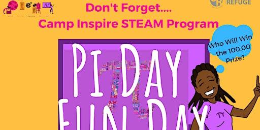 Camp Inspire Pi Day Fun Day 2020